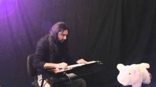 ONE OF THESE DAYS with Gretsch G5700 Electromatic Lap Steel Guitar