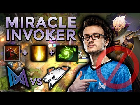 Reason Why You Should Ban Invoker vs Nigma - Miracle- Invoker Perspective vs VP - WePlay AniMajor