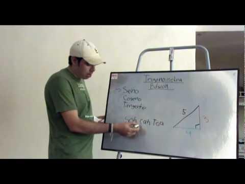 Aprender Trigonometría Básica - YouTube