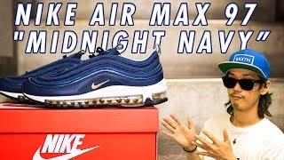 "【New Kicks/スニーカー】NIKE AIR MAX 97 ""MIDNIGHT NAVY""!!(ナイキ エアマックス 97 ""ミッドナイト ネイビー"")"