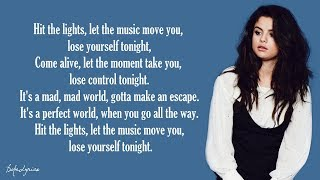 Selena Gomez & The Scene - Hit The Lights (Lyrics)