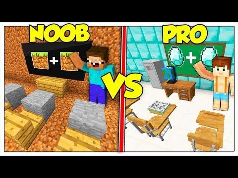 SCUOLA NOOB CONTRO SCUOLA PRO! - Minecraft ITA