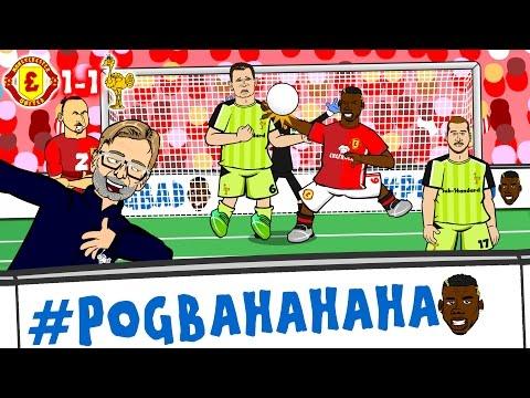 #POGBA-HA-HA-HA! Man Utd vs Liverpool 1-1 (Pogba Handball, Milner Penalty, Zlatan header GOALS)
