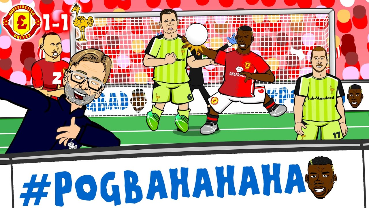 Download #POGBA-HA-HA-HA! Man Utd vs Liverpool 1-1 (Pogba Handball, Milner Penalty, Zlatan header GOALS)