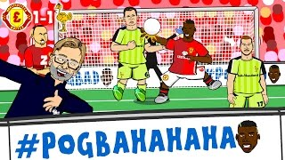 #POGBA-HA-HA-HA! Man Utd vs Liverpool 1-1 (Pogba Handball, Milner Penalty, Zlatan header GOALS)
