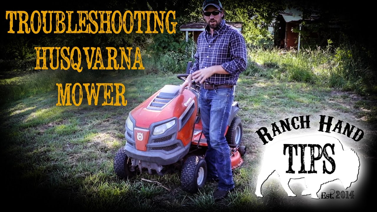 Husqvarna Troubleshooting Starting Issues Ranch Hand Tips Youtube