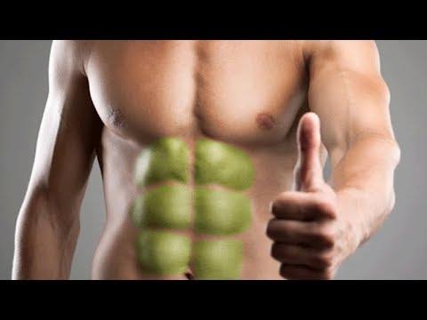 برنامج لنحت عضلات البطن (نظام غذائى+التمرين)