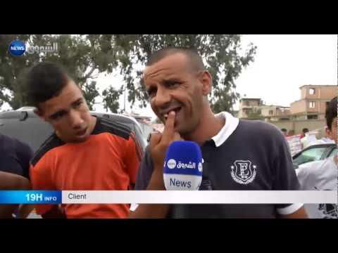 El-Harrach: des algériens de plus en plus attirés le commerce ambulant