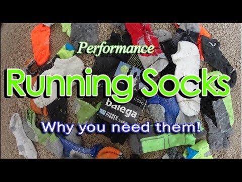Running Socks  Why you need them! All runners need to watch this!