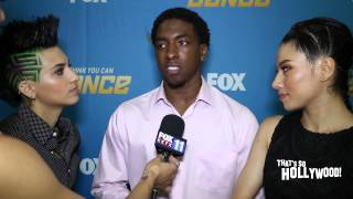 Megz Neptune and JJ reaction to their first live performance on SYTYCD Season 12