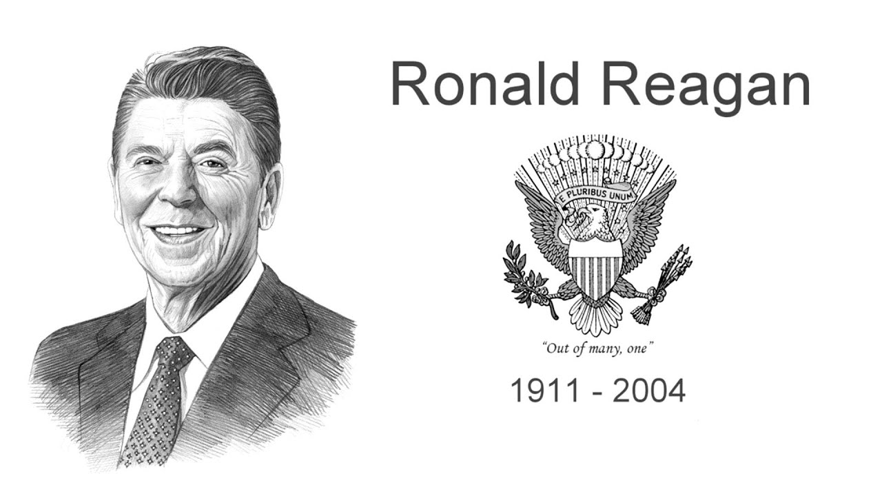 President ronald reagan biography