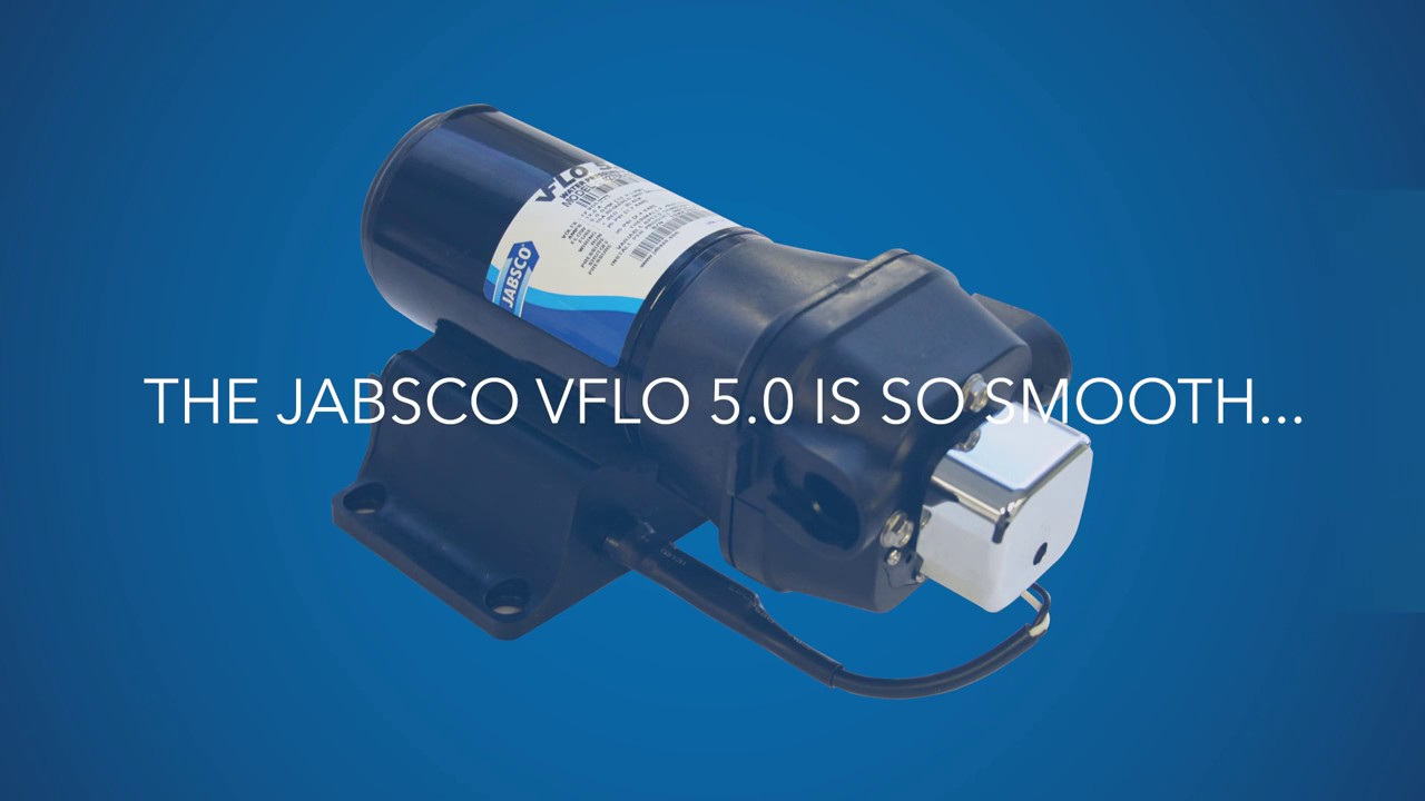 Jabsco - NEW VFlo Water Pressure Pump - Quiet With A Constant Flow ...