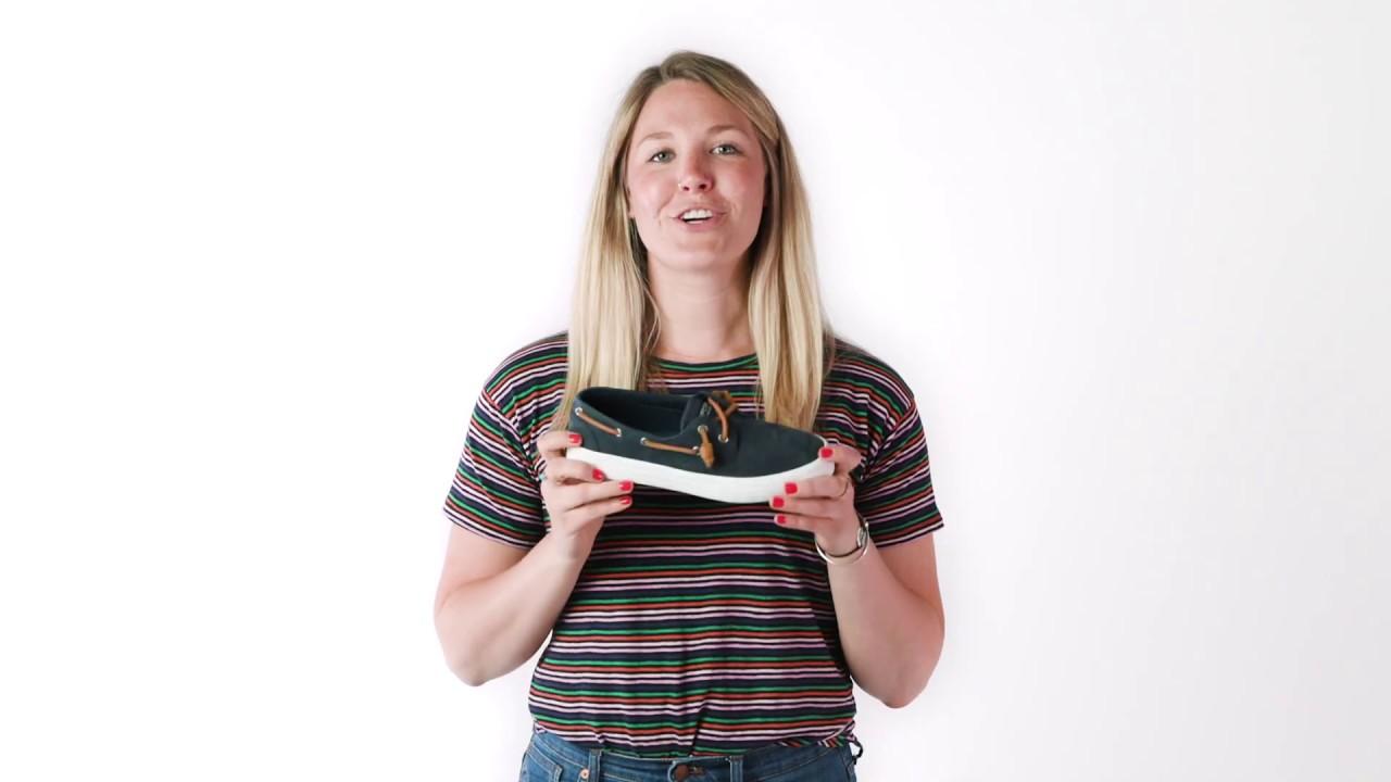 Women's Crest Washable Boat Shoe