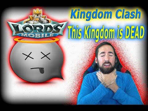 Lords Mobile KINGDOM CLASH   K64 Vs K12 - A DEAD KINGDOM!!