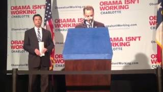 Reince Priebus remarks in Charlotte
