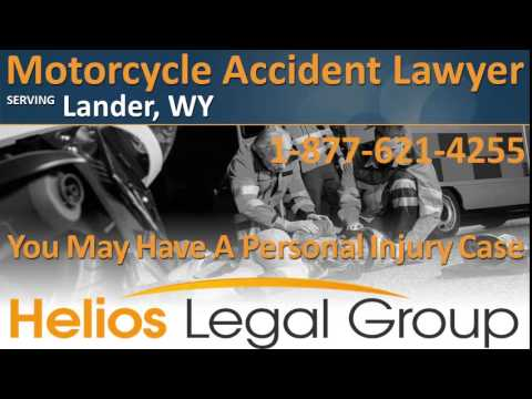 Lander Motorcycle Accident Lawyer & Attorney - Wyoming