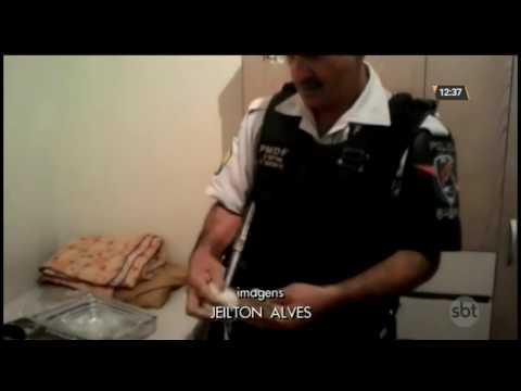 Droga é encontrada em geladeira de casa