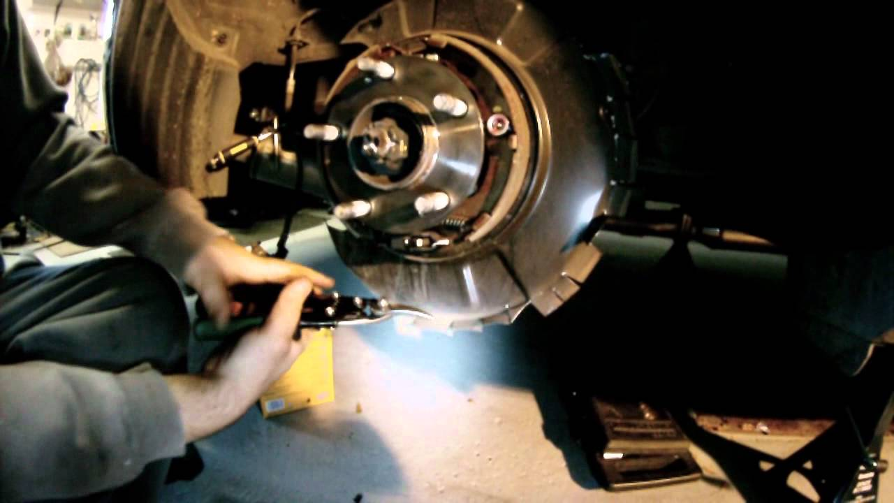 Genesis Auto Parts Brembo Rear Install Cutting Dust Shield Genesis Coupewmv