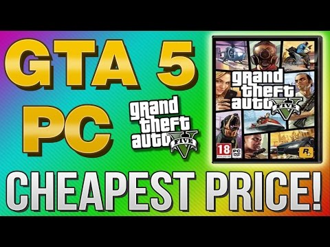 GTA 5 PC CHEAPEST PRICE! (Cheapest GTA V PC Price Online)