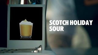 SCOTCH HOLIDAY SOUR DRINK RECIPE - HOW TO MIX