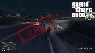 Idiotic GTA V Fails, crashes and wins...