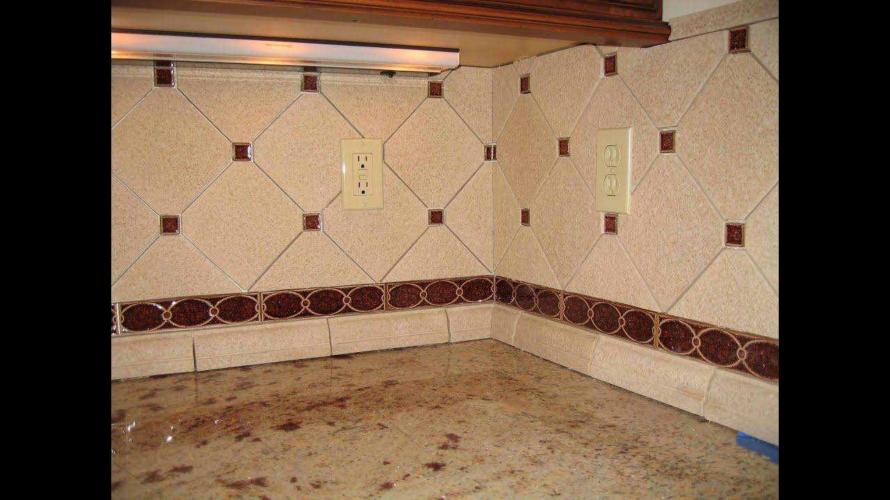 custom sonoma tile kitchen backsplash