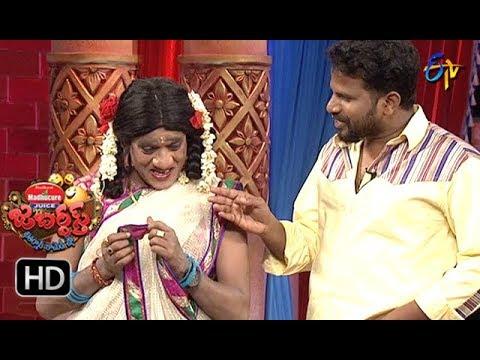 Hyper Aadi, Raising Raju Performance | Jabardasth | 23rd August 2018 | ETV  Telugu