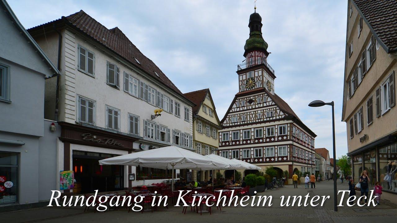 1 Rundgang in Kirchheim unter Teck  YouTube