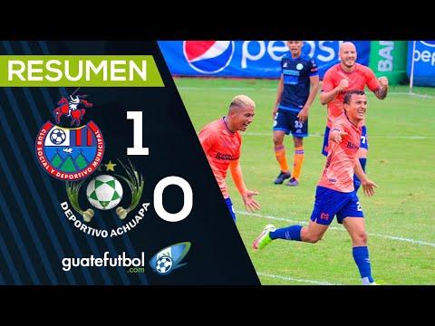 RESUMEN/ Municipal 1-0 Achuapa / Los Rojos ganaron gracias al gol del guatemalteco