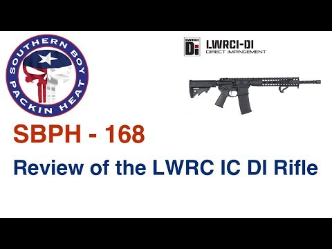 SBPH-168 Review of the LWRC IC DI 16.1 Rifle