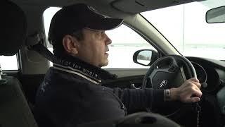 Уроки экстремального вождения: выходим из заноса на заснеженных дорогах Калининграда
