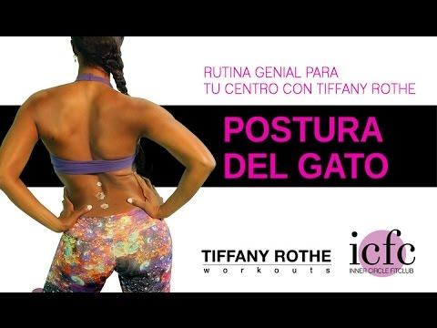 Postura de Gato- Rutina Genial para tu Centro Con Tiffany Rothe