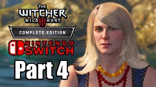 The Witcher 3: Wild Hunt (2019) Switch Gameplay Walkthrough Part 4 (No Commentary)
