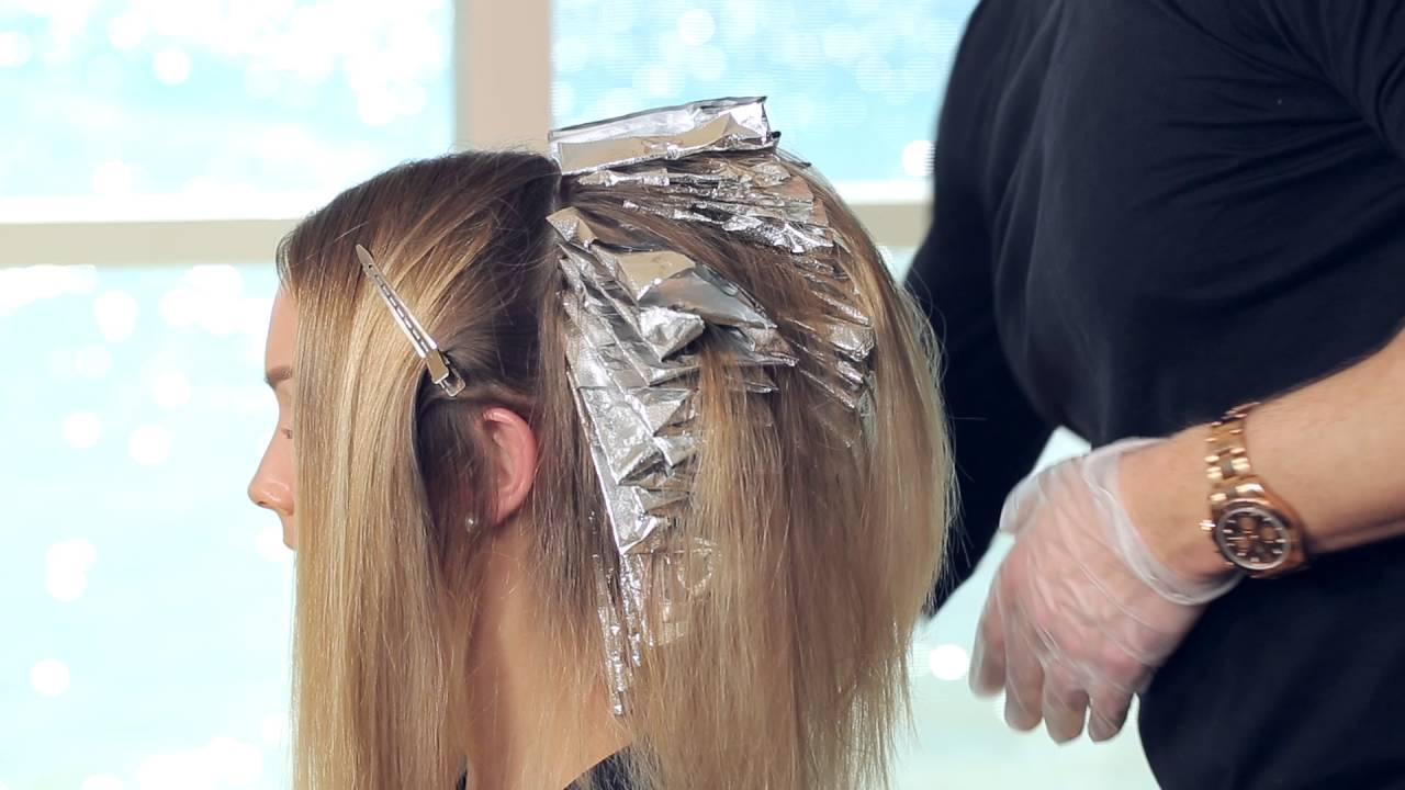 Perfect Blonde Hair Highlights Tutorial With Lumishine Youtube
