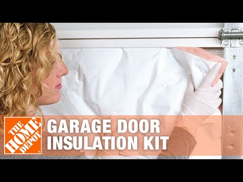 How to Install Owens Corning Garage Door Insulation Kit - The Home Depot