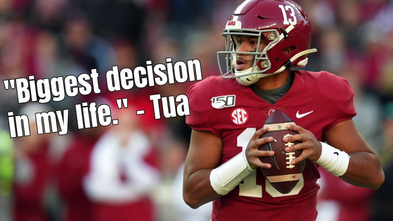 Faith led Tua Tagovailoa to declare for the draft, and it's what an ...