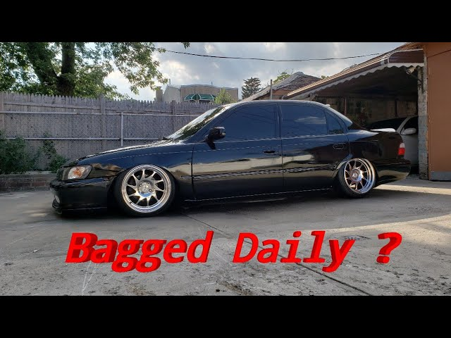 My Daily Bagged Corolla AE101 Build OvO Justin