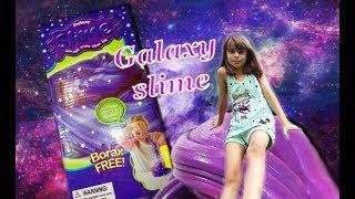 Космічний слайм з набору galaxy slime