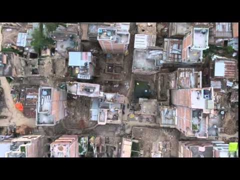 3D Model of Nepal Disaster Damage (Nadir)