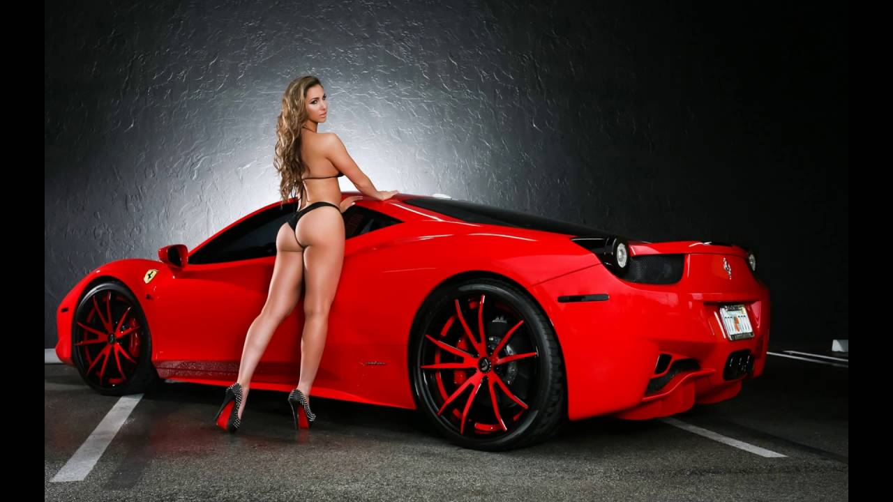 SUPER HOT GIRLS AND CARS - YouTube