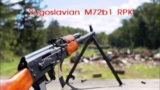 Yugoslavian M72B1 RPK