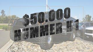 $50 000 Hummer H1 - Test Drive & Walkaround