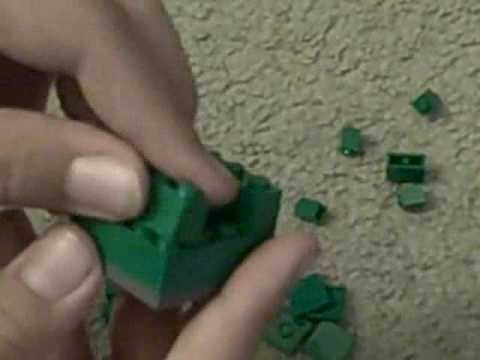 How to Make a Lego Trash Can - YouTube
