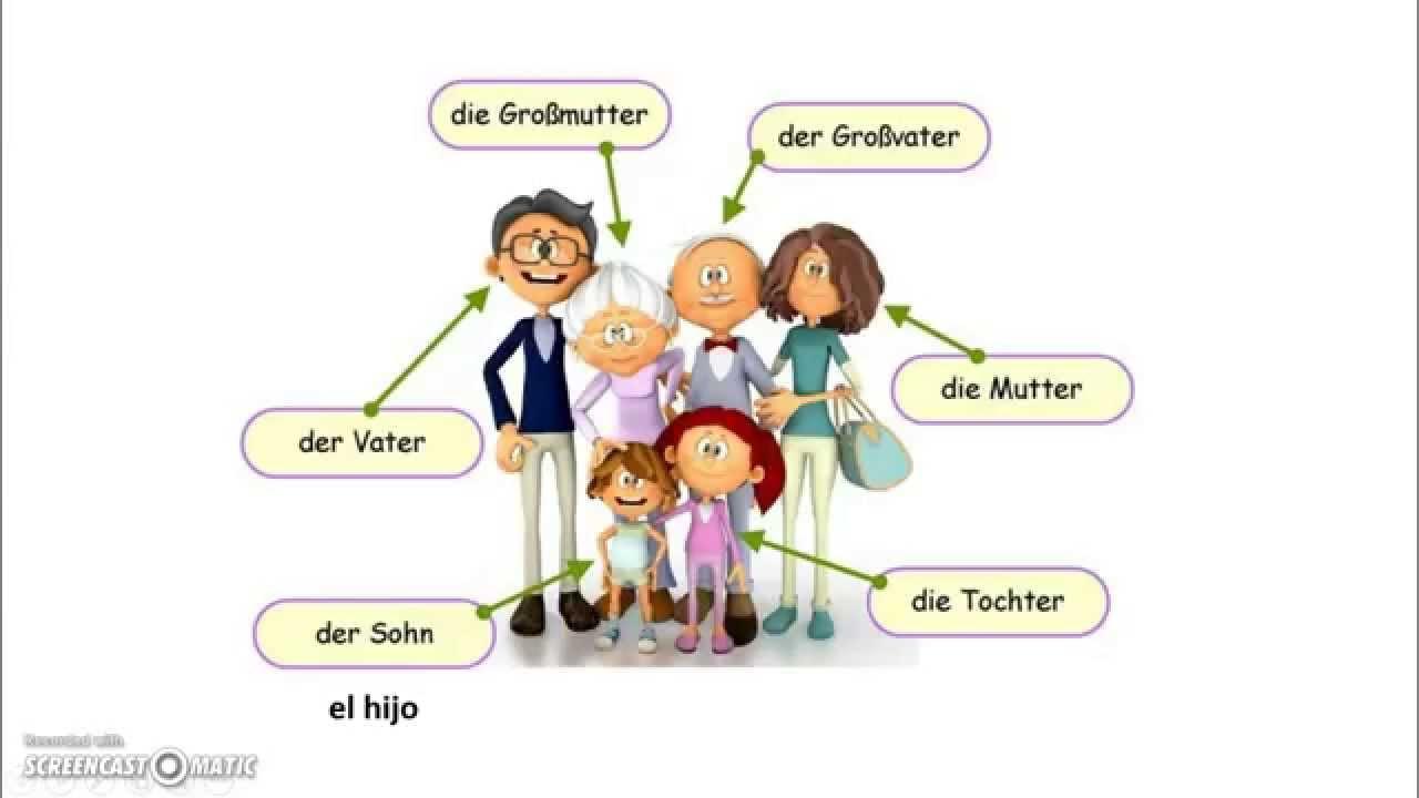 Die Familie L Aprender Alemán