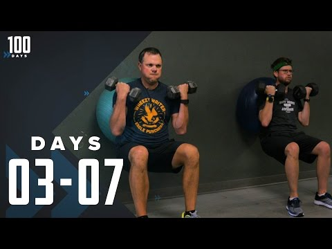 From Balance Balls to Medicine Balls: Days 3-7 | 100 Days