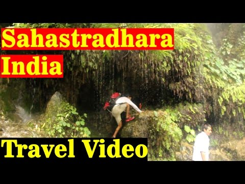 Sahastradhara Dehradun, Uttarakhand India Travel Video Guide Documentary