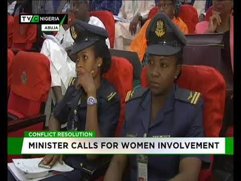 Minister of State for Budget and Planning wants women involvement in Conflict resolution