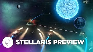 Space empire builder Stellaris in action