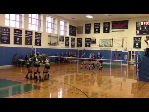 Varsity Volleyball: Chapin vs Spence at NYSAIS 2016