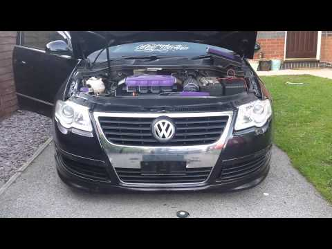 VW Passat B6 - Altec Show N Go Flip Plate